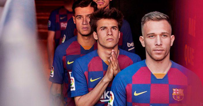 Ternet FC Barcelona Hjemmebanetrøje 2019