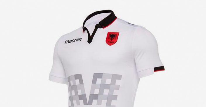 Albanien Udebanetrøje 2019