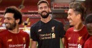 Alisson Liverpool FC Målmandstrøje 2019