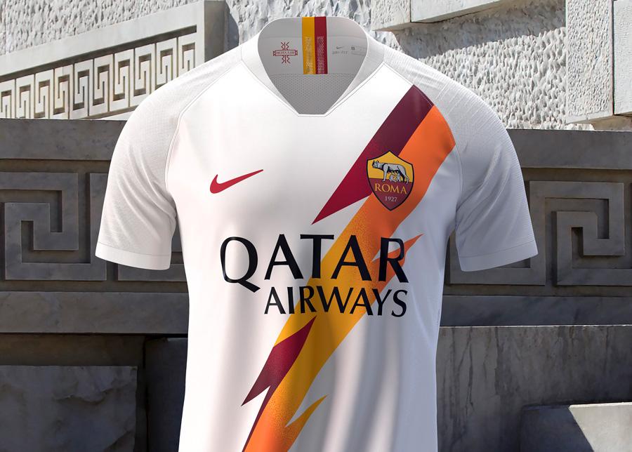 AS Roma Udebanetrøje 2019