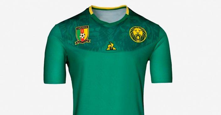 Cameroun Hjemmebanetrøje 2019