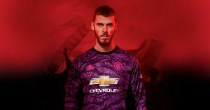 David De Gea Manchester United Målmandstrøje Hjemmebane 2019