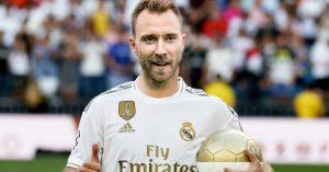 Christian Eriksen Real Madrid Fodboldtrøje