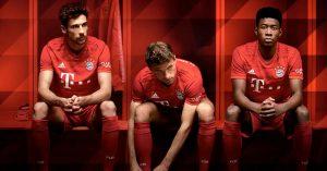 FC Bayern München Hjemmebanetrøje 2019