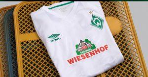 Hvid Werder Bremen Udebanetrøje 2019