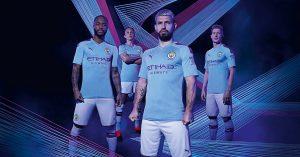 Manchester City Hjemmebanetrøje 2019