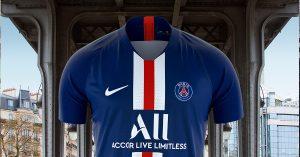 Paris Saint-Germain Hjemmebanetrøje 2019