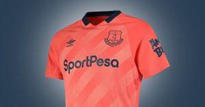 Pink Everton FC Udebanetrøje 2019