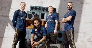 Blå Real Madrid Udebanetrøje 2019