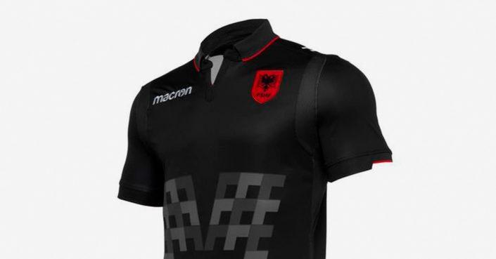Sort Albanien Udebanetrøje 2019