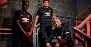 Sort Manchester United 3. Trøje 2019