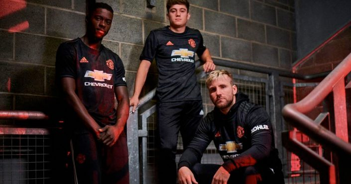 Sort Manchester United 3. Trøje 2019