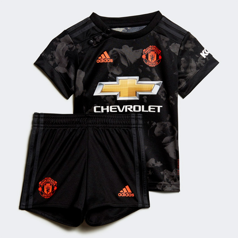 Sort Manchester United 3. Trøje 2019 baby