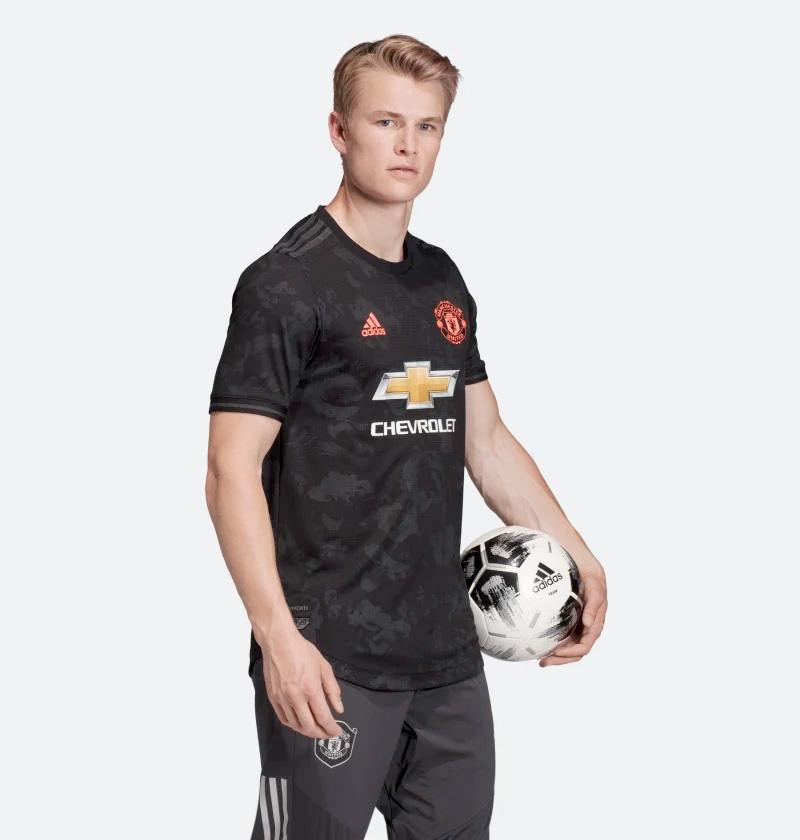 Sort Manchester United 3. Trøje 2019 Mænd