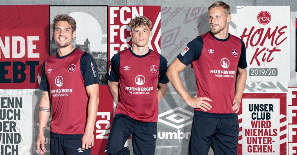 1. FC Nürnberg Hjemmebanetrøje 2019
