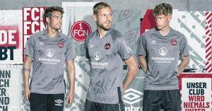 Grå 1. FC Nürnberg 3. Trøje 2019