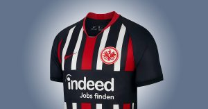 Eintracht Frankfurt Hjemmebanetrøje 2019