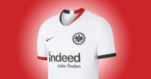Eintracht Frankfurt Udebanetrøje 2019