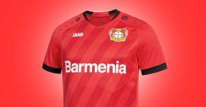 Beyer 04 Leverkusen Hjemmebanetrøje 2019