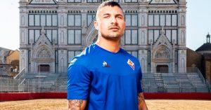 Blå Fiorentina Udebanetrøje 2019