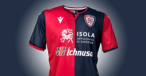Cagliari Hjemmebanetrøje 2019