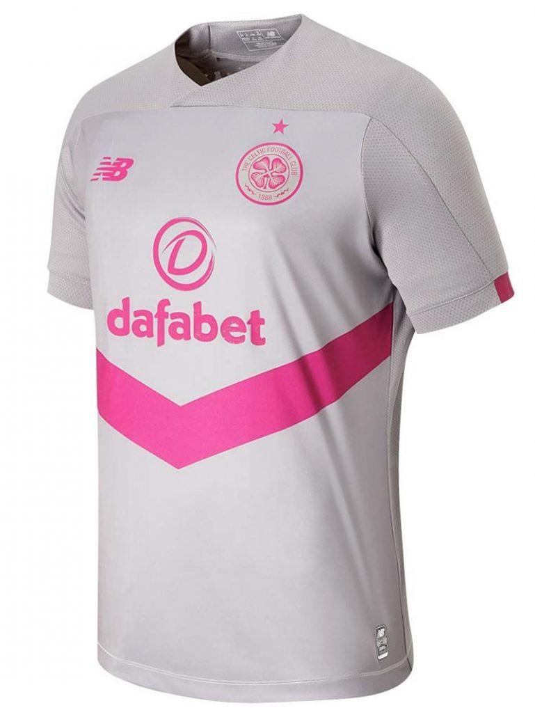 Grå Celtic FC 3. Trøje 2019