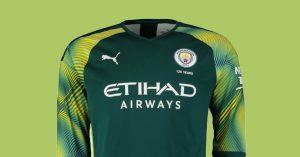 Grøn Manchester City Målmandstrøje 2019