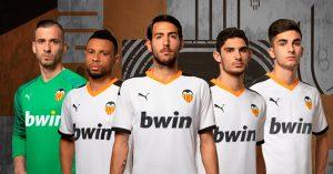 Hvid Valencia Hjemmebanetrøje 2019