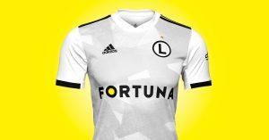 Hvid Legia Warswaza Udebanetrøje 2019