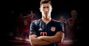 Mørkeblå Bayern München 3. Trøje 2019