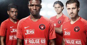 Rød FC Midtjylland Udebanetrøje 2019