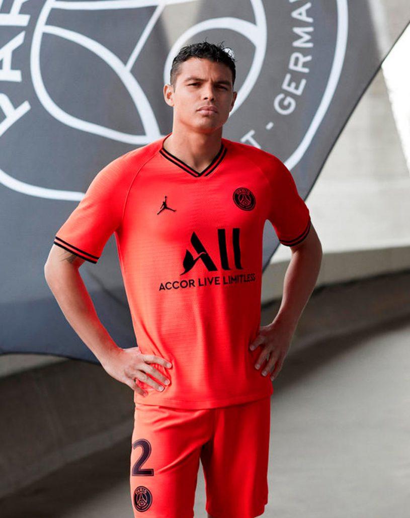 Rød Paris Saint-Germain Udebanetrøje 2019