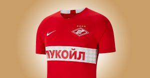 Spartak Moskva Hjemmebanetrøje 2019
