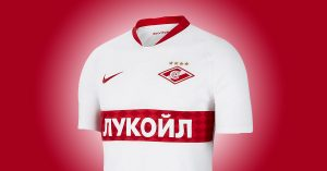 Spartak Moskva Udebanetrøje 2019