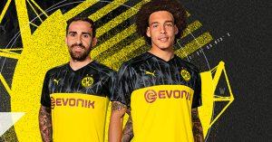 Borussia Dortmund Champions League Hjemmebanetrøje 2019