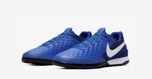 Blå Nike React Tiempo Legend 8 Pro Indendørs Fodboldsko