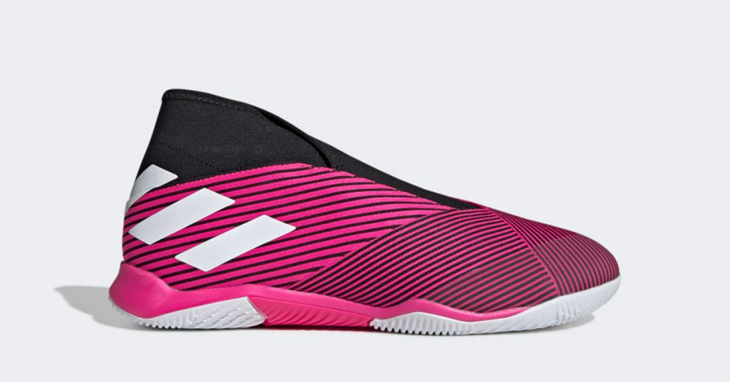 Pink Adidas Nemeziz 19.3 Indendørs Fodboldsko