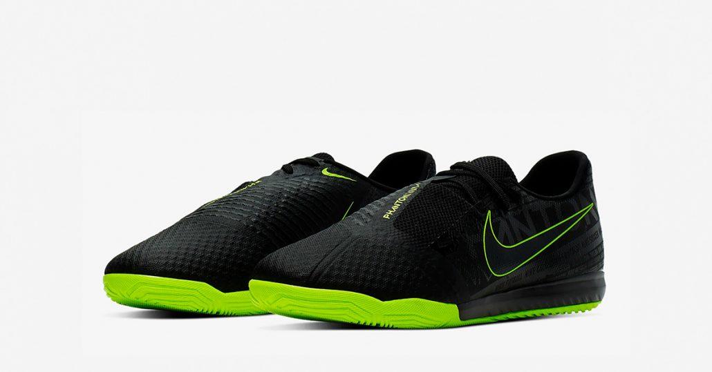 Sort Nike Phantom Venom Academy Indendørs Fodboldsko