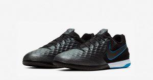 Sorte Nike React Tiempo Legend 8 Pro Indendørs Fodboldsko