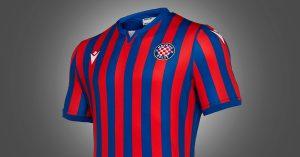 Hvid Hajduk Split Udebanetrøje 2019