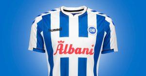 Odense Boldklub Hjemmebanetrøje 2019
