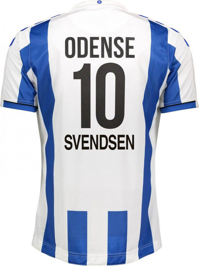 Odense Boldklub Hjemmebanetrøje 2019 Sander Svendsen