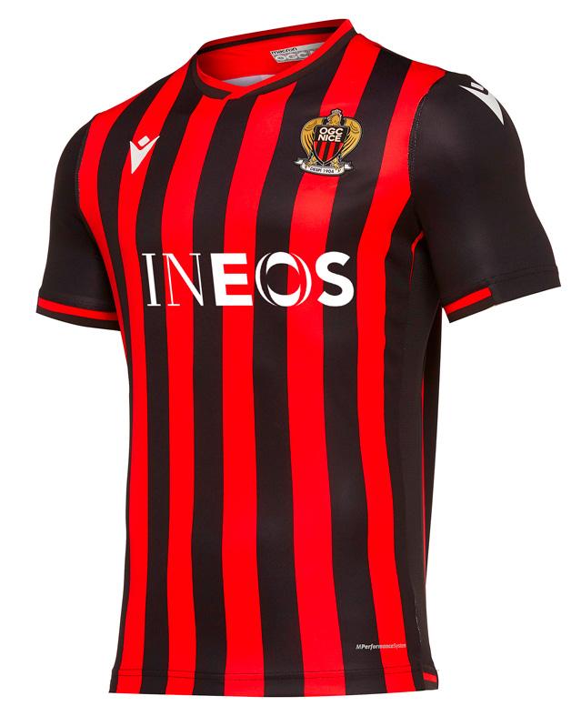OGC Nice Hjemmebanetrøje 2019