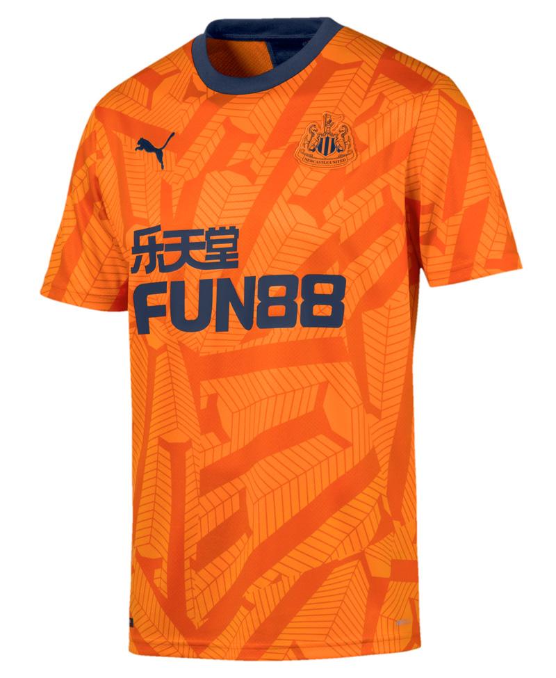 Orange Newcastle United 3. Trøje 2019