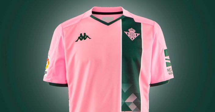 Pink Real Betis 3. Trøje 2019