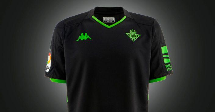 Sort Real Betis Udebanetrøje 2019