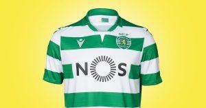 Sporting Lissabon Hjemmebanetrøje 2019
