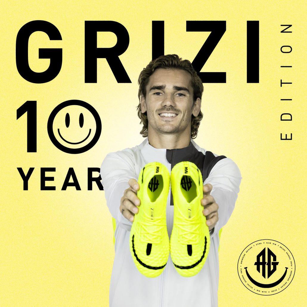 Antoine-Griezmanns-Gule-Puma-Future-4-1-Fodboldstoevler-05