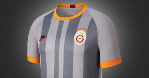 Grå Galatasaray 3. Trøje 2019