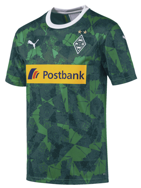Grøn Borussia Monchengladbach 3. Trøje 2019